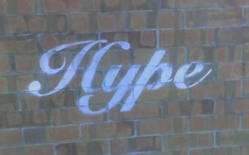 West End, stencil